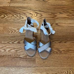 Ugg Espadrille flatbed sandals